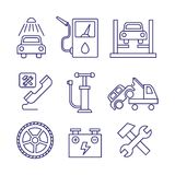 Car service  maintenance icon, Auto repair vector Stock Photos