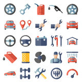 Car service maintenance icon Stock Images