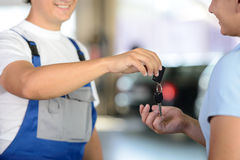 Car Service Royalty Free Stock Image