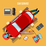 Car Service, Repairs and Diagnostics. Auto Maintanence Stock Photos