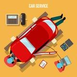 Car Service, Repairs and Diagnostics. Auto Maintanence Stock Photos