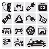 Car service set Royalty Free Stock Image