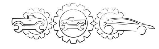 Car service Stock Photo