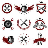 Car service set. Vector Stock Photography
