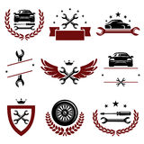 Car service set. Vector Royalty Free Stock Image