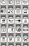 Car service signs Stock Photography