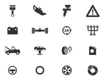 Car service simply icons. Car service simply symbol for web icons Stock Image