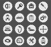 Car service simply icons Stock Photos