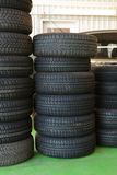 Car service tire service Stock Photos