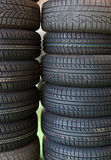 Car service tire service Stock Images