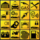 Car Set Icon Royalty Free Stock Images