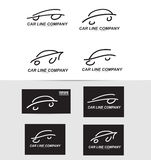 Car shape logo icon Royalty Free Stock Photo