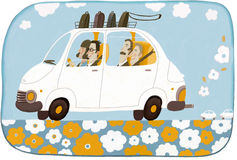 Car sharing Immagine Stock Libera da Diritti