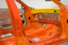 Car shell. A car shell and made ready in room Royalty Free Stock Photos