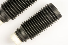 Car shock absorber protection rubber for dust and dirt.  Stock Photography