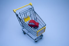 Car shopping Stock Photo