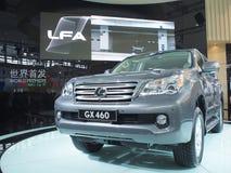 Car show. Guangzhou,China-LEXUS GX460 model Stock Image