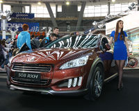 Car Show Royaltyfria Foton