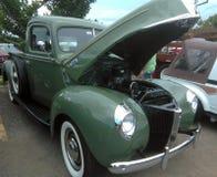 Car Show antico Isabela Puerto del muscolo fotografia stock libera da diritti