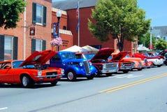 Car Show antigo Foto de Stock Royalty Free