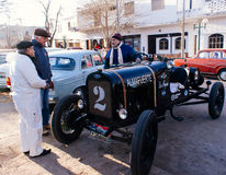 Car Show antiguo Imagen de archivo