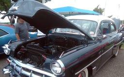 Car Show antiguo Isabela Puerto del músculo fotografía de archivo