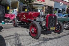 Car Show clásico 2014 de la calle del parque de Alameda Imagen de archivo