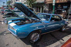 Car Show clásico 2014 de la calle del parque de Alameda Foto de archivo libre de regalías