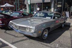 Car Show clásico 2014 de la calle del parque de Alameda Fotografía de archivo libre de regalías