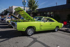 Car Show clásico 2014 de la calle del parque de Alameda Fotos de archivo libres de regalías