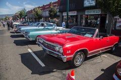 Car Show clásico 2014 de la calle del parque de Alameda Imagen de archivo libre de regalías