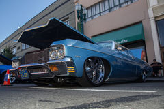 Car Show clásico 2014 de la calle del parque de Alameda Foto de archivo