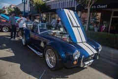 Car Show clásico 2014 de la calle del parque de Alameda Fotografía de archivo