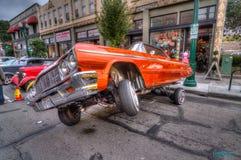 Car Show clássico 2013 da rua do parque de Alameda Fotos de Stock Royalty Free