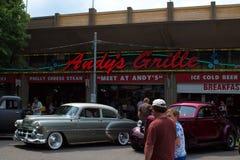 Car Show clássico em Minnesota foto de stock
