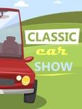 Car Show classico Fotografia Stock