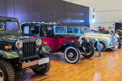 Car Show classique Images libres de droits