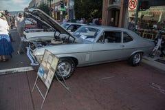 Car Show classique 2014 de rue de parc d'Alameda Images stock