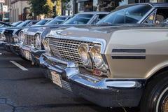 Car Show classique 2014 de rue de parc d'Alameda Images libres de droits