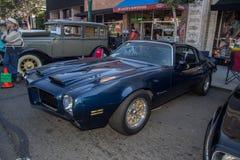 Car Show classique 2014 de rue de parc d'Alameda Image libre de droits