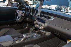 Car Show classique 2014 de rue de parc d'Alameda Image stock