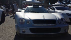 Car Show Concourse DE Elegance Cannery Row 8 Royalty Free Stock Photo