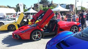 Car Show Concourse DE Elegance Cannery Row 11 Stock Image
