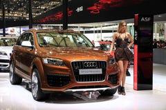 Car Show, cumbre auto 2011 de Shangai Fotografía de archivo