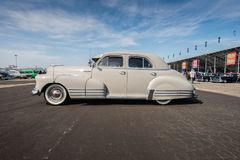 Car Show 1948 de Chevrolet Fleetliner- Pomone 2016 Photographie stock