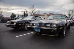 Car Show de los coches y del café de BlackHawk en Danville Fotos de archivo libres de regalías