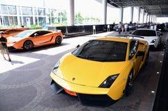 Car Show de véhicule superbe et d'importation de la Thaïlande Photographie stock libre de droits