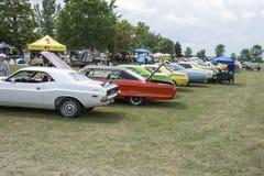 Car Show dell'annata Fotografie Stock
