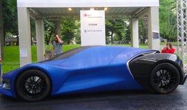 Car Show dell'aria aperta, Torino, Italia fotografia stock