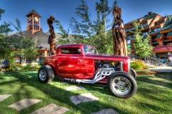 Car Show divino del lago Tahoe imagen de archivo